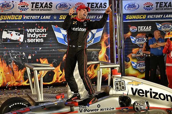 IndyCar Texas: Power wint chaotische race