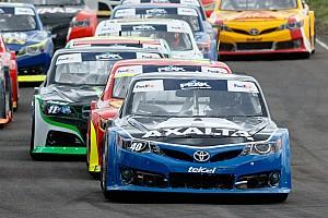 NASCAR Mexico Crónica de Carrera Abraham Calderón gana en Guadalajara y aprieta pelea por el título