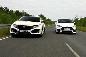 OTOMOBİL Özel Haber Honda Civic Type R vs. Ford Focus RS