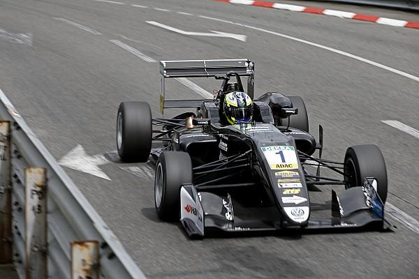 F3 Europe Race report Pau F3: Eriksson keeps Norris at bay after Ilott crash