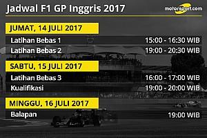 Formula 1 Preview Jadwal lengkap F1 GP Inggris 2017