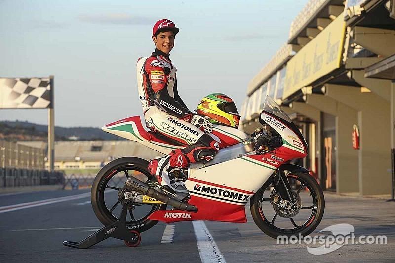 Listo México para debutar en Moto3