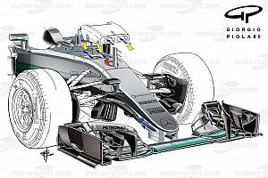 Formel-1-Technik: Mercedes' Trick mit dem S-Schacht