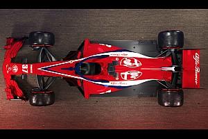 Designstudie: Sauber/Alfa Romeo für die Formel 1 2018