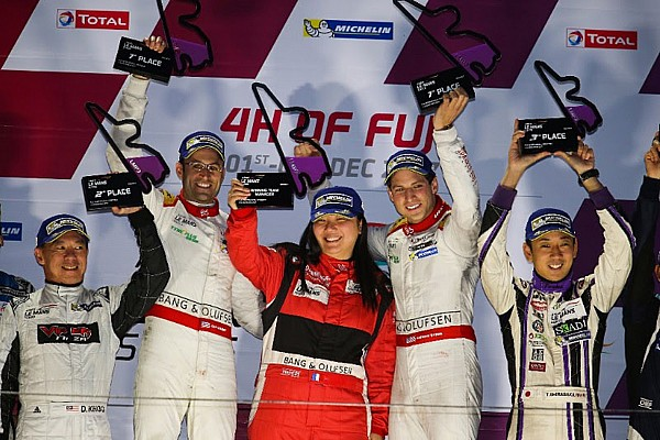 Cosmo and Byrne take commanding Asian Le Mans Series victory at Fuji International Speedway