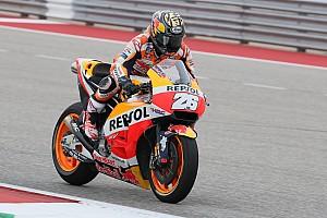 MotoGP Reaktion Platz sieben in Austin: Dani Pedrosa besiegt die Schmerzen