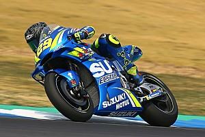 MotoGP Breaking news Suzuki riders impressed by latest aero fairing