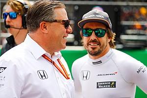 Formule 1 Actualités Alonso: Brown