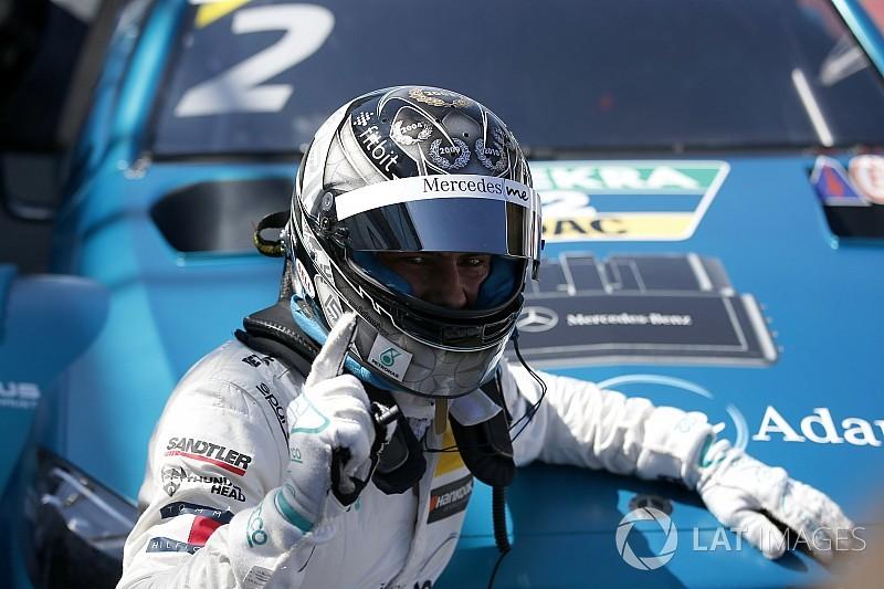Zandvoort DTM: Paffett beats Wehrlein to pole