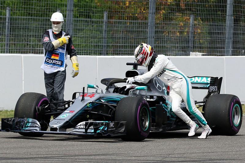 Hamilton prepara la rimonta, ma non considera che le Ferrari siano prendibili