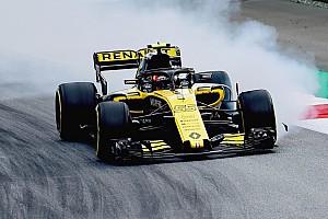 Pour Sainz, le cloquage des pneus a rendu sa Renault