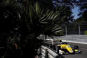 F3-Euro Crónica de Carrera Fenestraz se impone en la segunda carrera de la F3 en Pau; Palou, segundo