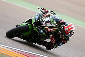 World Superbike Race report Aragon WSBK: Rea beats Ducatis in red-flagged race