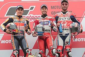 """MotoGP Noticias Petrucci: """"Gran resultado, estoy muy feliz por Dovizioso y por mí"""""""