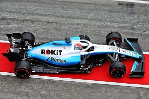 Williams finally hits the track in Barcelona testing