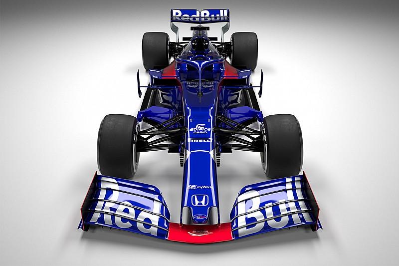 Toro Rosso STR14: il fondo ha una rotaia rialzata, il retrotreno è tutto Red Bull!