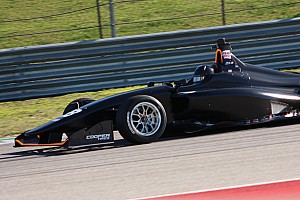 Askew heads up first day of Indy Lights testing at COTA