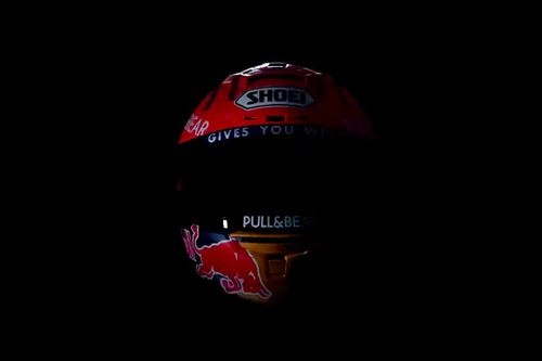 Marc Márquez ya piensa en 2021 y desvela el nuevo casco que llevará