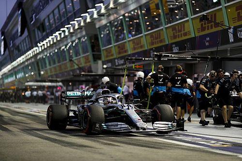 "Hamilton: ""Geen idee waarom Ferrari ineens zo snel is"""