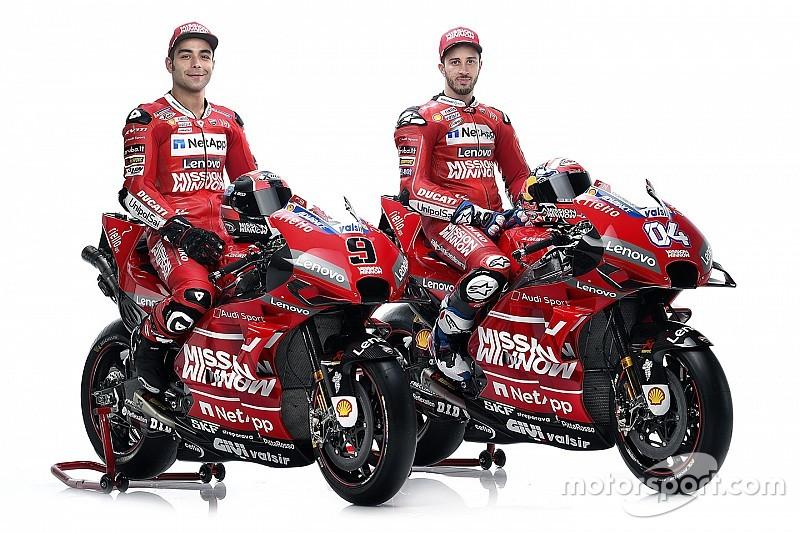 Ducati présente sa nouvelle livrée pour 2019
