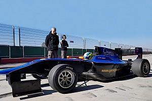 Carrara tuvo dos días de pruebas con un GP3 en Italia