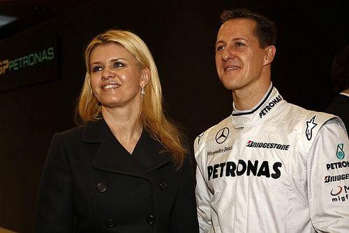 """Schumacher, Corinna rompe il silenzio: """"Rispettiamo la volontà di Michael"""""""