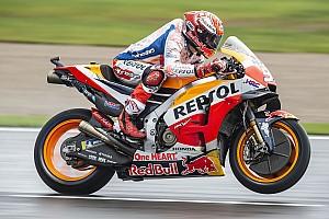FP4 MotoGP Valencia: Trek mengering, Marquez dominan