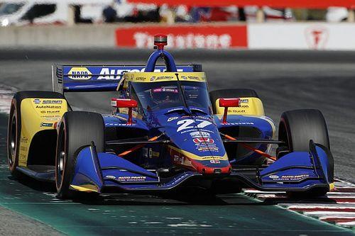 Laguna Seca IndyCar: Rossi tops misty warm-up session