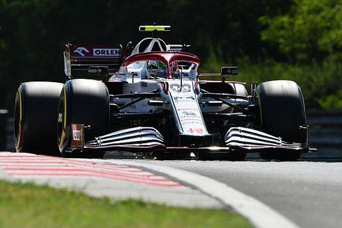 Pit yolundaki olay nedeniyle Alfa Romeo para cezası aldı, Giovinazzi'ye kınama verildi