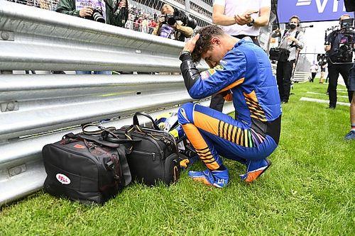Leclerc empatiza con Norris tras su derrota y le anima