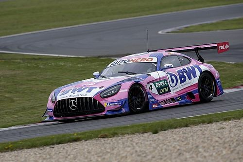Mercedes quickest as DTM testing resumes at Lausitzring