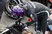 Mercedes a failli changer les pneus de Hamilton pour le dernier tour