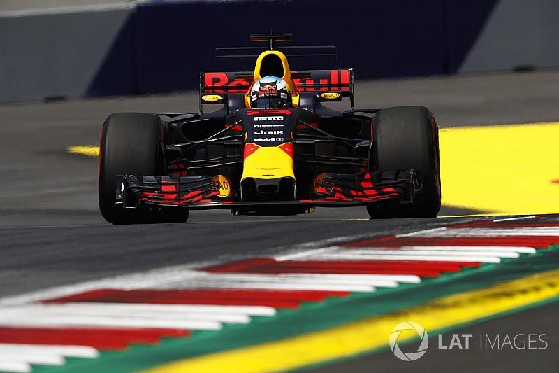 Ricciardo ve una mejora en el rendimiento de Red Bull