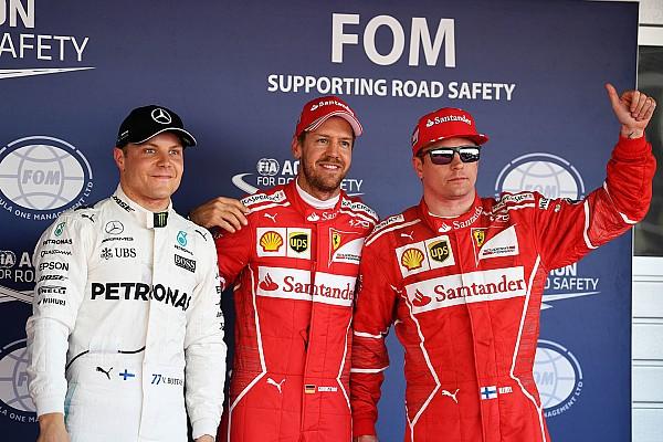 F1 Resultados La parrilla de salida del GP de Rusia