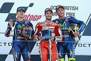 MotoGP Résumé de course Course - Dovizioso Roi d'Angleterre, Márquez détrôné!