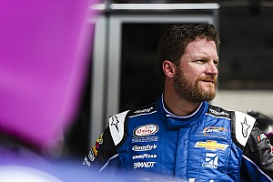 Dale Earnhardt Jr. treated for dehydration after Bristol Xfinity race