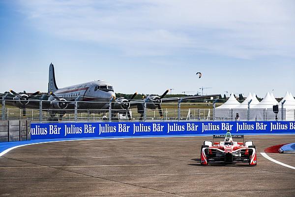 Formel E in Berlin: Felix Rosenqvist fährt zum 1. Sieg