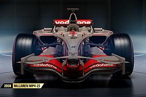 eSports Breaking news Full F1 2017 classic car list revealed