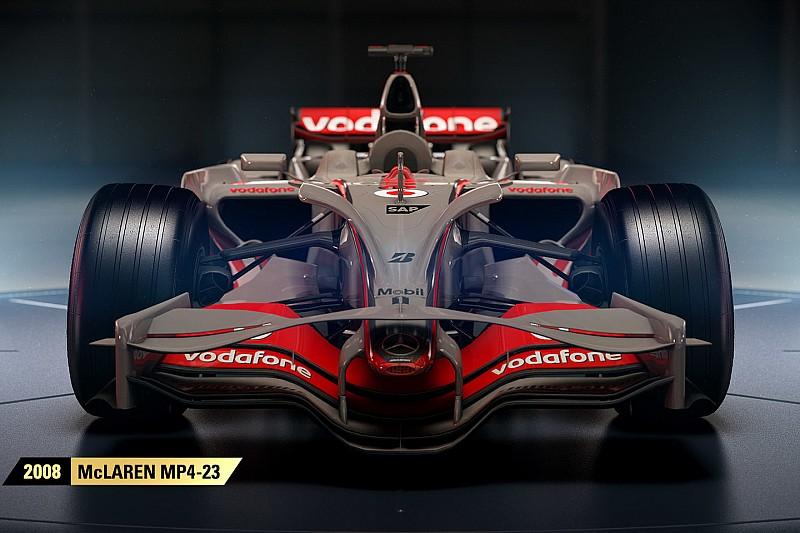 F1 2017'de McLaren MP4-13 ve MP4-23 de yer alacak