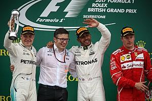 Formula 1 Race report GP Inggris: Hamilton dominan, Ferrari alami drama ban