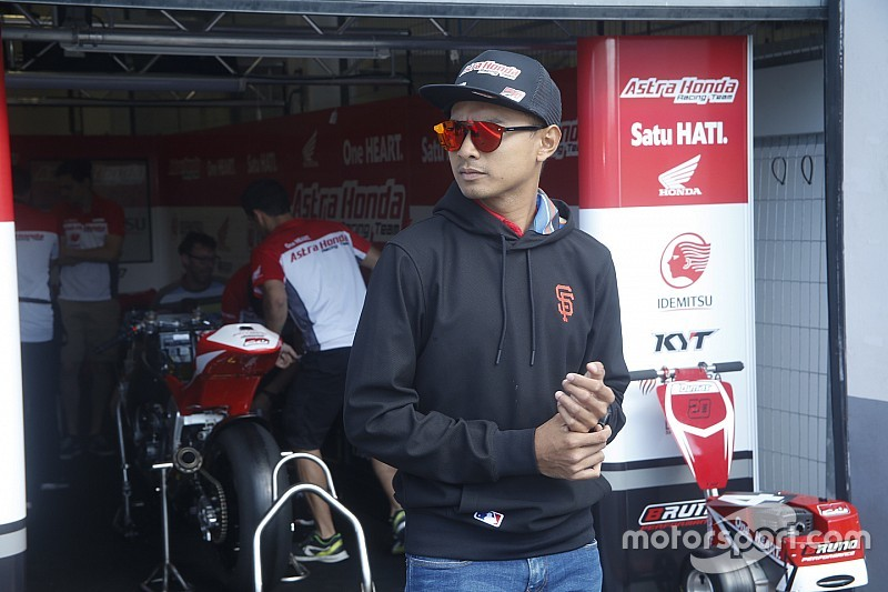 Start ketujuh, Dimas Ekky targetkan podium