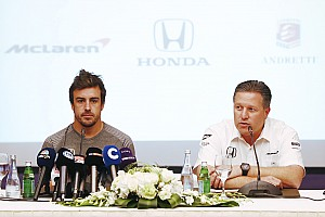 IndyCar Breaking news Alonso Indy 500 idea was originally a joke, says Brown