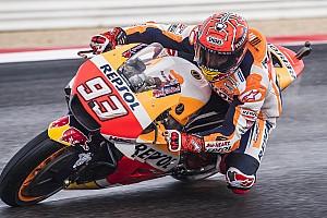 FP1 MotoGP Aragon: Marquez posisi teratas, Rossi ke-18