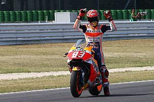 MotoGP Réactions Márquez performant quelles que soient les conditions et