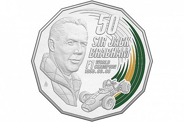 Sir Jack Brabham honoured with Australian coin