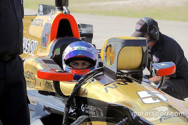 """Derani se inspira com Wickens na Indy: """"posso fazer o mesmo"""""""