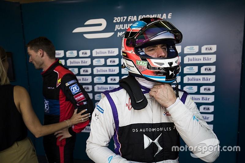 """López está """"realmente incómodo"""" con perderse carreras de la Fórmula E"""