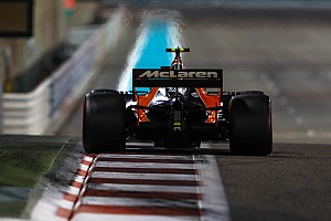 Formel 1 News Vandoorne in Abu Dhabi: Klebeband im Diffusor verursachte Probleme