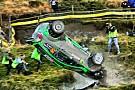 Fotostrecke: WRC-Crash von Yazeed Al Rajhi