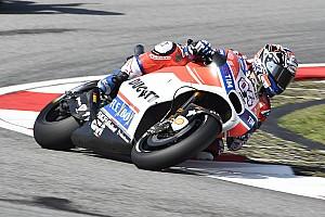 MotoGP Reporte de pruebas Dovizioso aumenta su presión con su mejor tiempo en el warm up